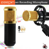 ZEEPIN BM 800 Recording Microphone Condenser Mic Kit Sound Studio Shock Mount For Singing Recording KTV