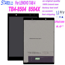 цена на Starde Lcd for LENOVO TAB 4 TB4-8504 TB4-8504X 8504F LCD Display Touch Screen Digitizer Assembly Replacement