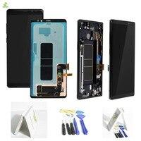 НОВЫЙ 6,3 ЖК дисплей Дисплей Примечание 8 N9500 для SAMSUNG Galaxy NOTE8 ЖК дисплей N9500 N9500F ЖК дисплей Дисплей Сенсорный экран Запчасти для авто + рамка