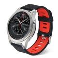 Новый Прочный Кремния Спортивные Часы Группа Для Передач S3 Замена Группы Ремешок Для Передач S3 Классический границы Smart Watch