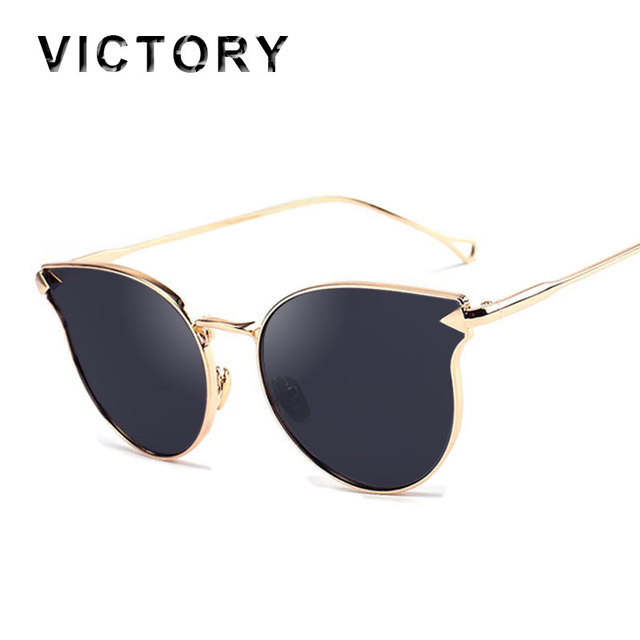 2016 Italy Famous Hipster Brand Designer Women Sunglasses New Cat Eye Arrow Shapes Mirror Cateye Men Sun glasses 4