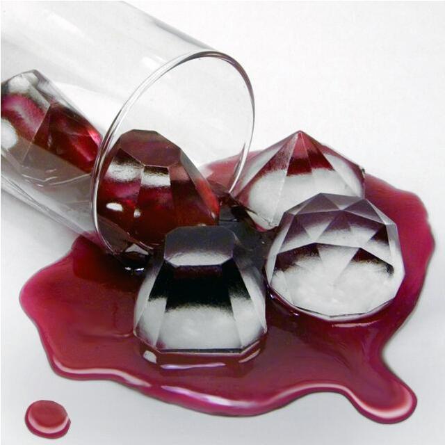 Бриллианты Gem Прохладный Ice Cube шоколад Мыло лоток формы силиконовые fodant силиконовые формы для льда Куб Mold Maker