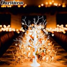 Теплое свадебное дерево в центре сердца для гостей, подписанное искусственное растение, вечерние сувениры для гостей, Деревенское свадебное украшение