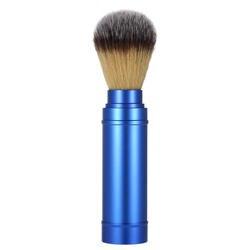 Плотная бритвенная щетка из Натурального Волоса барсука съемный алюминиевый ручка лицо, борода Чистящая бритва щетка Мужская бритвенная