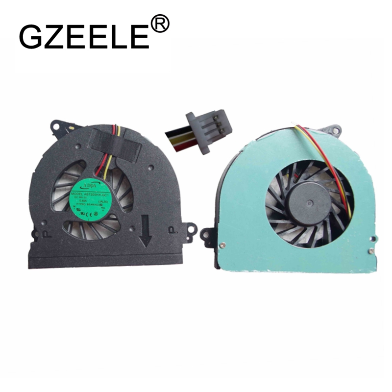 GZEELE new Laptop cpu cooling fan for DELL inspiron 1320 Notebook Cooler Radiator Computer Replacement Cooler INS 13 P04S GM6D3