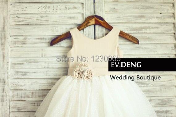 Фактические lmages ручной цветок девочки платья для свадеб vestido де noiva платье выпускного вечера дети горячая