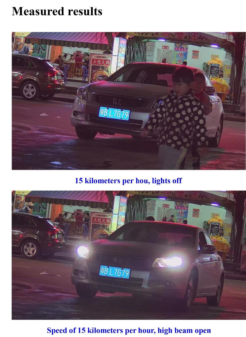 Coaxial hd LPR Camera 4 Led 12''-5