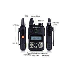 Image 2 - 2PCS Baofeng מיני T1 UHF רדיו BF T1 שתי דרך רדיו משדר FM CB רדיו עבור מלון מסעדה ספר