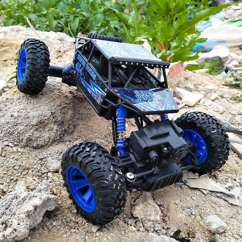 RC Car 4WD 2.4GHz 1:18 Climbing Remote Control Car 4x4 Double Motors Bigfoot Car Off-Road Vehicle Toy Model For Boys Kids Gift mst 532141 cmx 1 10 4wd fj40 kit off road car climbing simulation model car