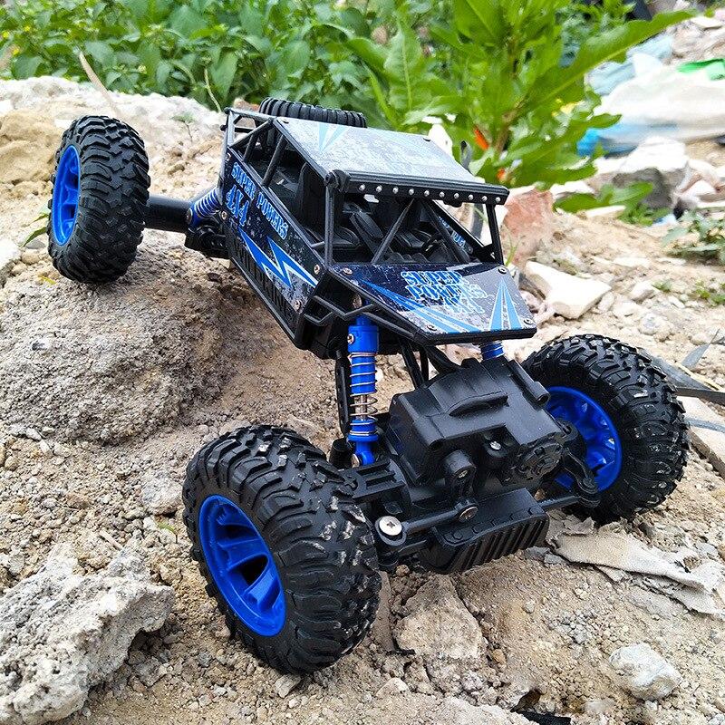 RC Voiture 4WD 2.4 ghz 1:18 Escalade Télécommande Voiture 4x4 Double Moteurs Bigfoot Voiture Hors Route véhicule Jouet Modèle Pour Garçons Enfants Cadeau