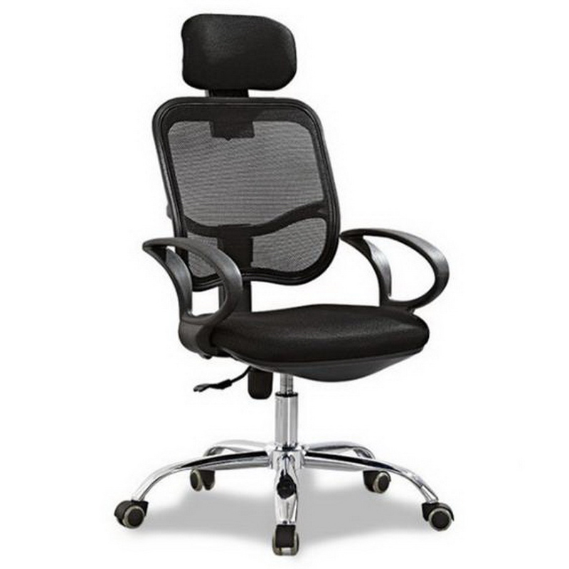 240330/Computer Chair/Streamlined PU handrails/Comfortable handrail design/Household Office boss Chair /High quality pulley 240335 computer chair household office chair ergonomic chair quality pu wheel 3d thick cushion high breathable mesh
