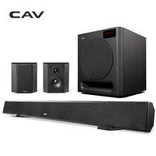 CAV ALS-Набор DTS SRS Виртуального 5.1 Turesurround Звука Домашнего Кинотеатра 5.1 Беспроводная Система Глубокий Бас Колонки Оптического Волокна передачи