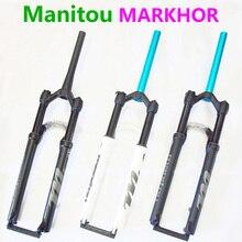 Велосипедная вилка Manitou MARKHOR M30 новая модель 26 27,5 29er горная вилка для горного велосипеда передняя воздушная вилка разная для MRD Marvel Pro Comp