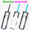 Bike Fork Manitou MARKHOR M30 New model 26 27.5 29er Mountain MTB Bicycle Fork air Front Fork Different to MRD Marvel Pro Comp
