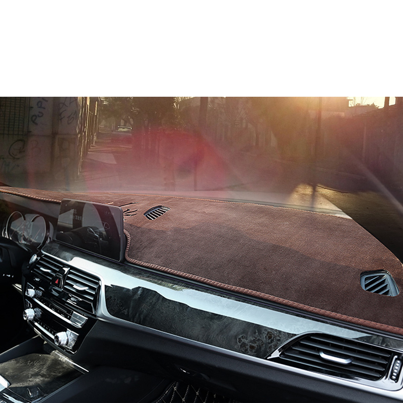 lsrtw2017 suede polyester car dashboard mat for bmw 3 series F30 F31 F32 F33 F34 F36 318i 320i 330i 340i 420i 2013 2018 in Interior Mouldings from Automobiles Motorcycles