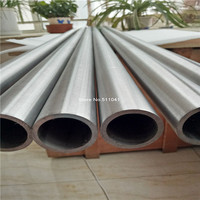 Grade 9 Seamless Titanium Tubes 57mm 2 5mm 1000mm 3pcs Wholesale Price