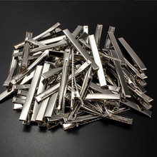 Set of 50 Metal Alligator Hair Clips