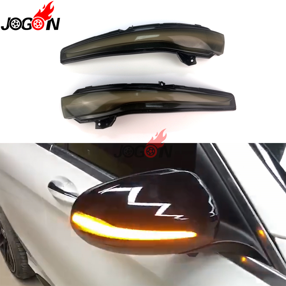 For Benz C E S GLC Class W205 W213 W222 X253 C63 E63 C200 Side Wing Rear View Mirror Indicator LED Dynamic Turn Signal Light-in Signal Lamp from Automobiles & Motorcycles    1