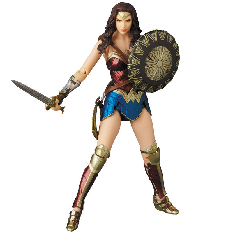 Justice League Mafex Batman Maf 056 Flash 058 Wonder Woman 048 Superman 057 Spiderman 047 Action Figure Toy Doll (12)