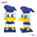 SC: Mickey Goofy Pato Donald 1004 Diamante Micro Nano Building Blocks Figura de Acción boy & girl regalos