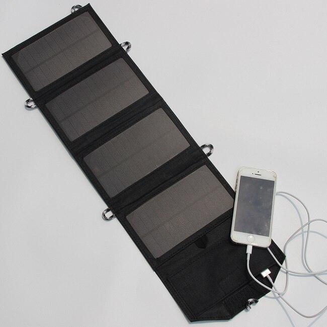 7 Вт 5 В складной Панели солнечные Зарядное устройство открытый Портативный Солнечный Зарядное устройство для сотового телефона мобильного…