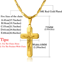 Cross Jesus Necklace