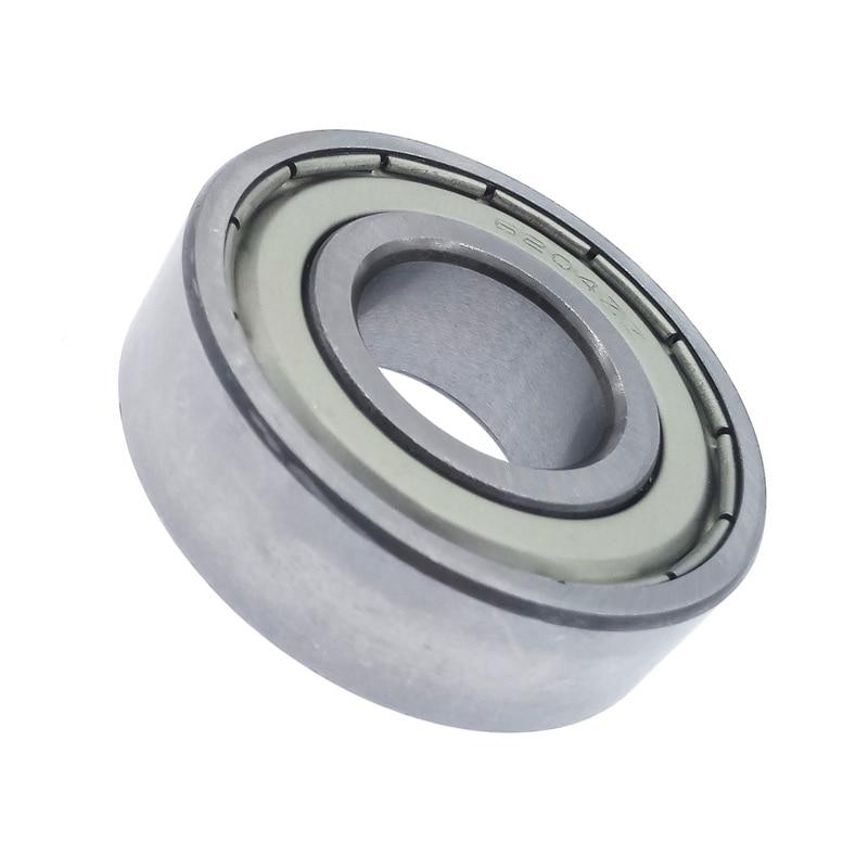 1pcs 6204 6204Z 6204ZZ Bearing Deep Groove Ball Bearings 20*47*14 Mm Metal Sealed Bearing Carbon Steel Bearing