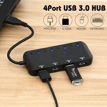 ZEUSLAP USB3.0 HUB Fast Speed 4 Port USB 3.0 Splitter USB Hub 3.0 Adapter Laptop Accessories Hub Usb For laptop notebook