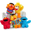 Lovely Cute 5Pcs/Lot Sesame Street Plush Toys Pendant Children Kids Dolls Figures ELMO Plush Key Chain Stuffed Toys Pendant