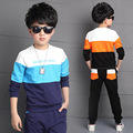 Kids Sport Suit For 4 5 6 7 8 9 10 11 12 13 14 Years Teenagers Baby Boy Spring Wear Long Sleeve Boy Shirt + Pant 2pcs Boy Set