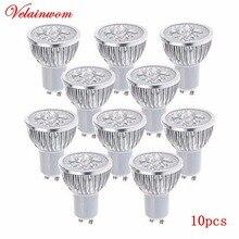 Scheinwerfer Birne Dimmbare 3W 4W 5W AC85 265V GU10/GU 5,3 High Power Warm/Kalt Weiß LED Lampe Downlight Freies Verschiffen 10 Teile/los