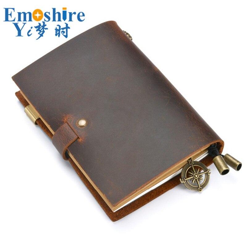 notebook retro inserir termos loose leaf diario bloco 02