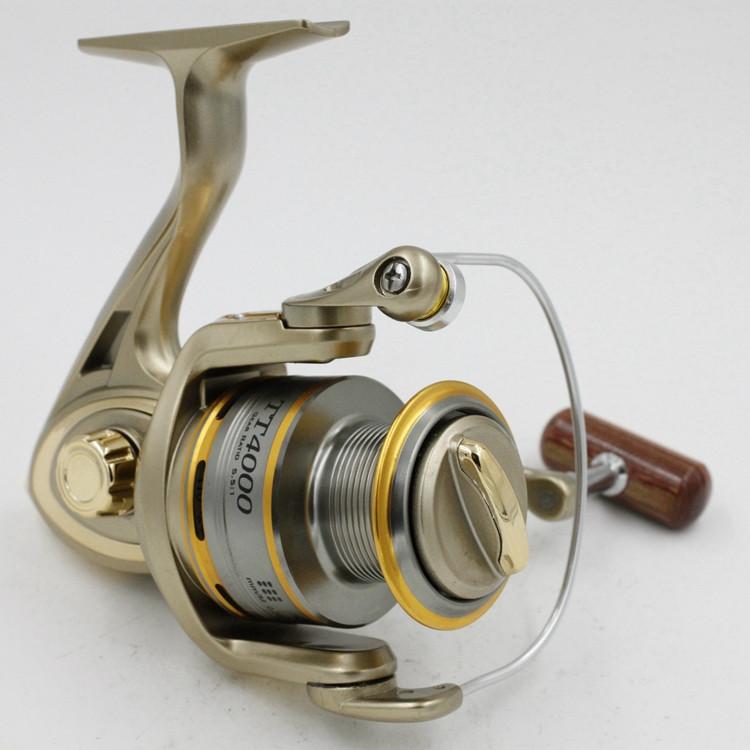 Cheap 1000-11000 Series Spinning Fishing Reel Saltwater 11 Bearing Trolling Sea Surf Casting Reels Low Profile Wheel China  (7)