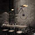 E27 Nordic Ferro Retro Cafe pendant lâmpada Quarto Restaurante Bar Industrial Vento Indivíduo Criativo Luzes Pingente de Bicicleta