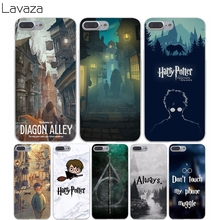 Lavaza 857X Harry Potter Welcome to Diagon Hard Transparent Cover Case for iPhone 7 7 Plus 6 6S Plus 5 5S SE 5C 4 4S 6splus(China)