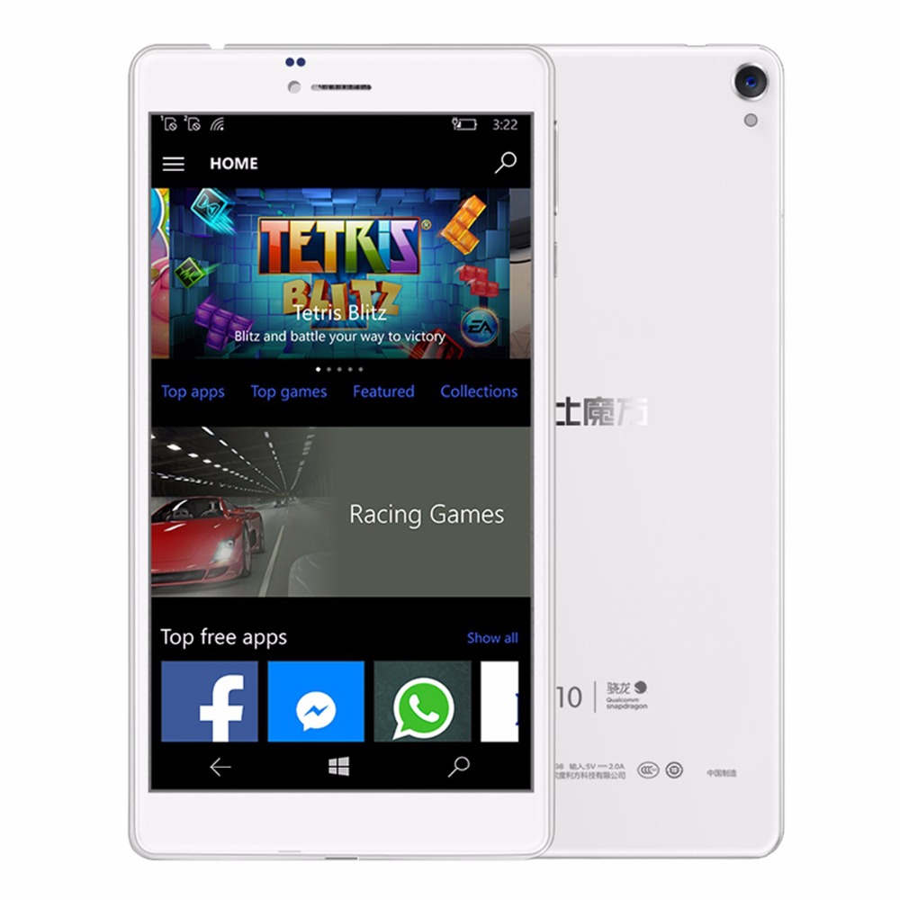 Cube WP10 Win10 6.98 inch 4G MSM8909 Quad Core 1.3GHz 2GB RAM 16GB ROM 5.0MP Rear Camera IPS WiFi OTG Tablet Phablet Mobile