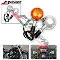 El envío libre de la motocicleta señal de vuelta de la luz de señalización para yamaha v estrella xvs xv400 650 1100 1300 v-max 1200 vmax 1200