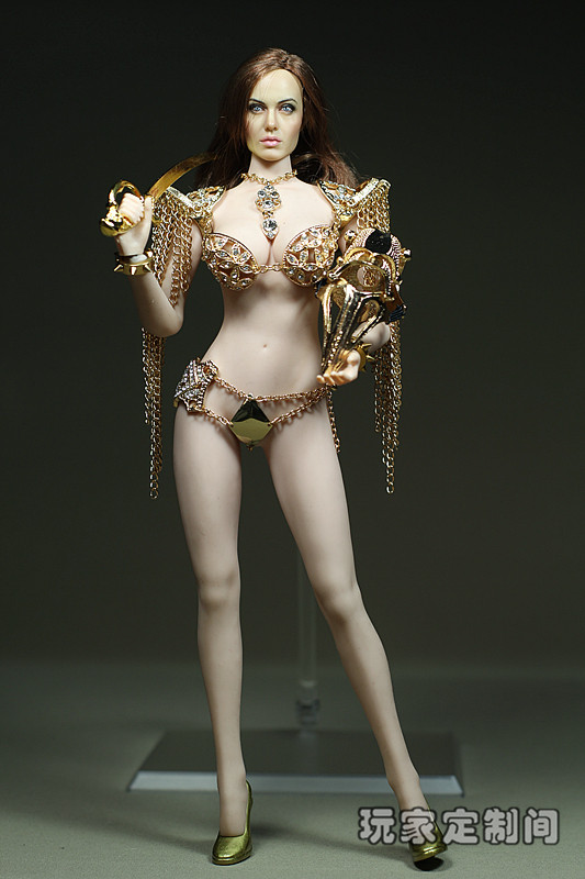 1/6 doll Accessory Metal clothes for Phicen Female Seamless body Action figure doll,Not included head;body;shoes;weapon 3738 1 6 scale figure doll plastic model seamless body with metal skeleton female samurai tomoe 12 action figure collectible figure