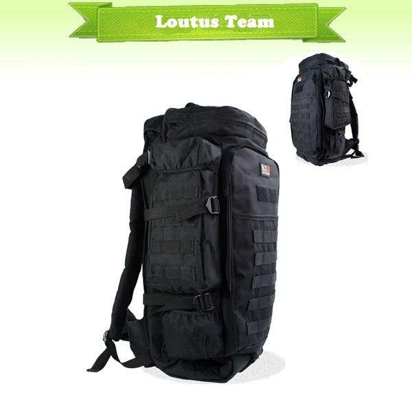 Army Tactical Molle mochila de Gran Capacidad Al Aire Libre Bolsa de Viaje de Ca