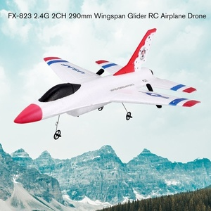 Image 5 - New Design 290mm Wingspan EPP RC Fixed Wing Airplane RTF  2.4G 2CH Glider Model FX 823