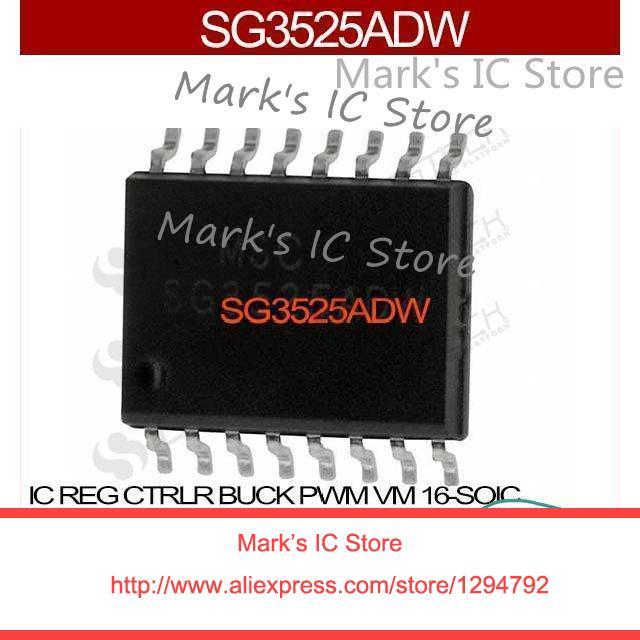 US $8 95  Sg3525adw IC REG CTRLR BUCK PWM VM 16 SOIC SG3525ADW 3525 SG3525  SG3525A SG3525AD 3525A di Sirkuit terpadu dari Komponen elektronik &