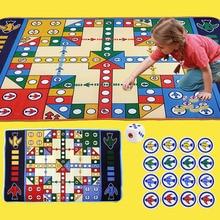 בייבי גדול משחק מאטס שולחן העבודה שחמט לוח המשחק שטיח שטיחון מאט משחק פד גדול שחמט טיסה טיסה Playgym מאט