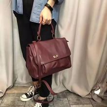 цены 100% Genuine Leather Handbags Women Bags Famous Brands Fashion Shoulder Bag Female Satchel High Quality Women Messenger Bags