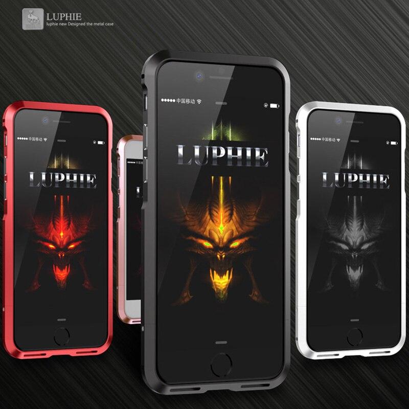 bilder für Edle Luxus Stoßdämpfer Für iPhone 7 Aluminium Fall Für iPhone 7 Plus Metallstoßkasten Erweiterte Legierung Rahmen