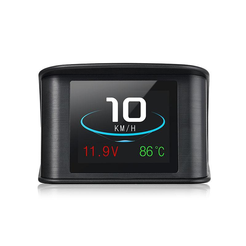 Newest P10 HUD Head Up Display Multi Color Car Speedometer Digital Reflective Projector HUD Head Up Display 2.2 Inch