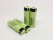 4PCS/LOT New Original Panasonic 18650 NCR18650B 3.7V 3400mAh Rechargeable Li-ion Battery Batteries Free Shipping
