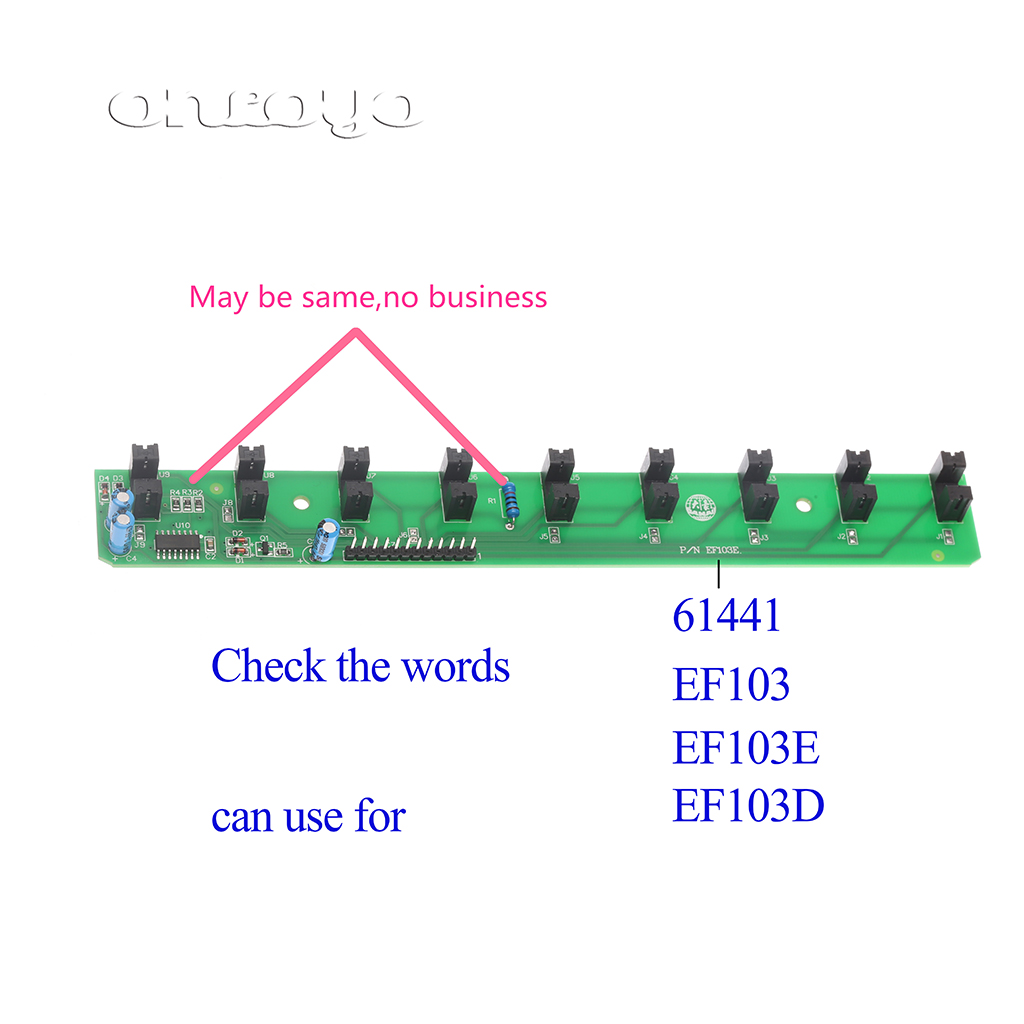 EF103 아홉 기사 검사 컴퓨터 자수 기계 예비 품목