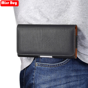 Lowered Universal Casual Men Business Leather Phone Pouch For Samsung Galaxy A8 A6 Plus A9 A5 A7 2018 Case Waist Bag Holster Belt Cover