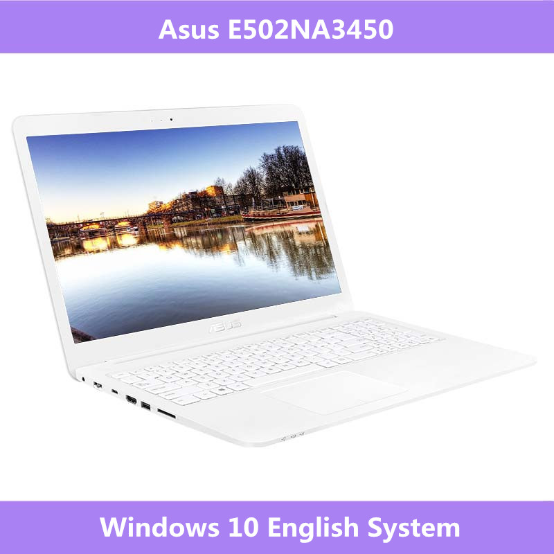Asus E502NA3450 15.6 inch business & office laptop Intel Celeron Quad Core N3450 4G DDR3L RAM Windows 10 Portable notebook image
