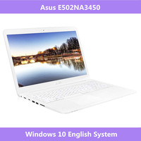 Asus E502NA3450 15.6 inch business & office laptop Intel Celeron Quad Core N3450 4G DDR3L RAM Windows 10 Portable notebook